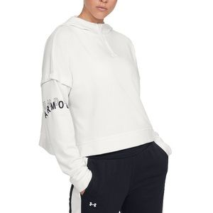 NWT Under Armour Rival Terry 1/2 Zip Hoodie sz XL